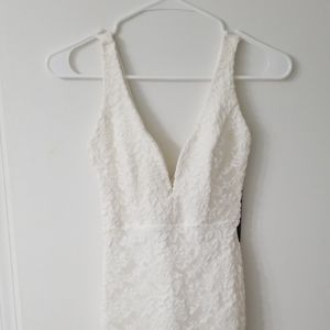 Lulu's deep v-neck dress